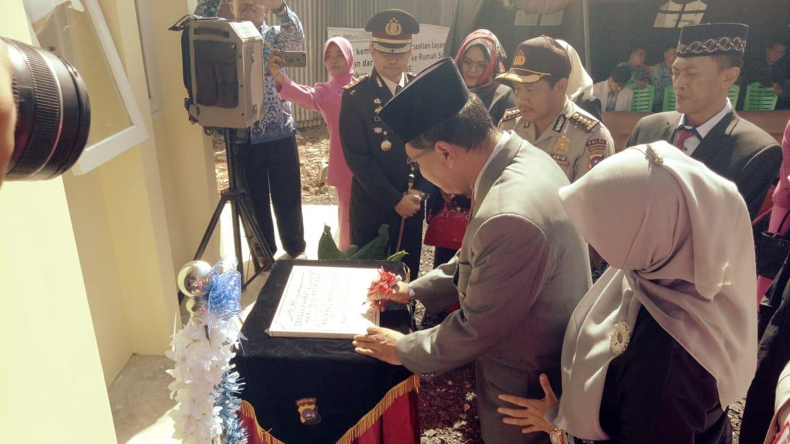 Bupati Irfendi Arbi Resmikan Poliklinik Polres 50 Kota