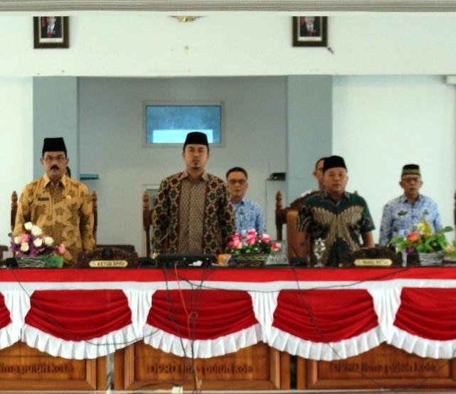 DPRD Kabupaten Limapuluh Kota Gelar Rapat Paripurna Pengumumam Penetapan Calon Pimpinan Definitif