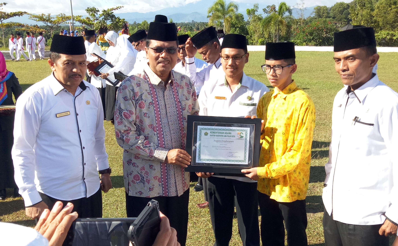 Bupati Irfendi Arbi Harapkan Honor Garin dari Pemerintah Pusat