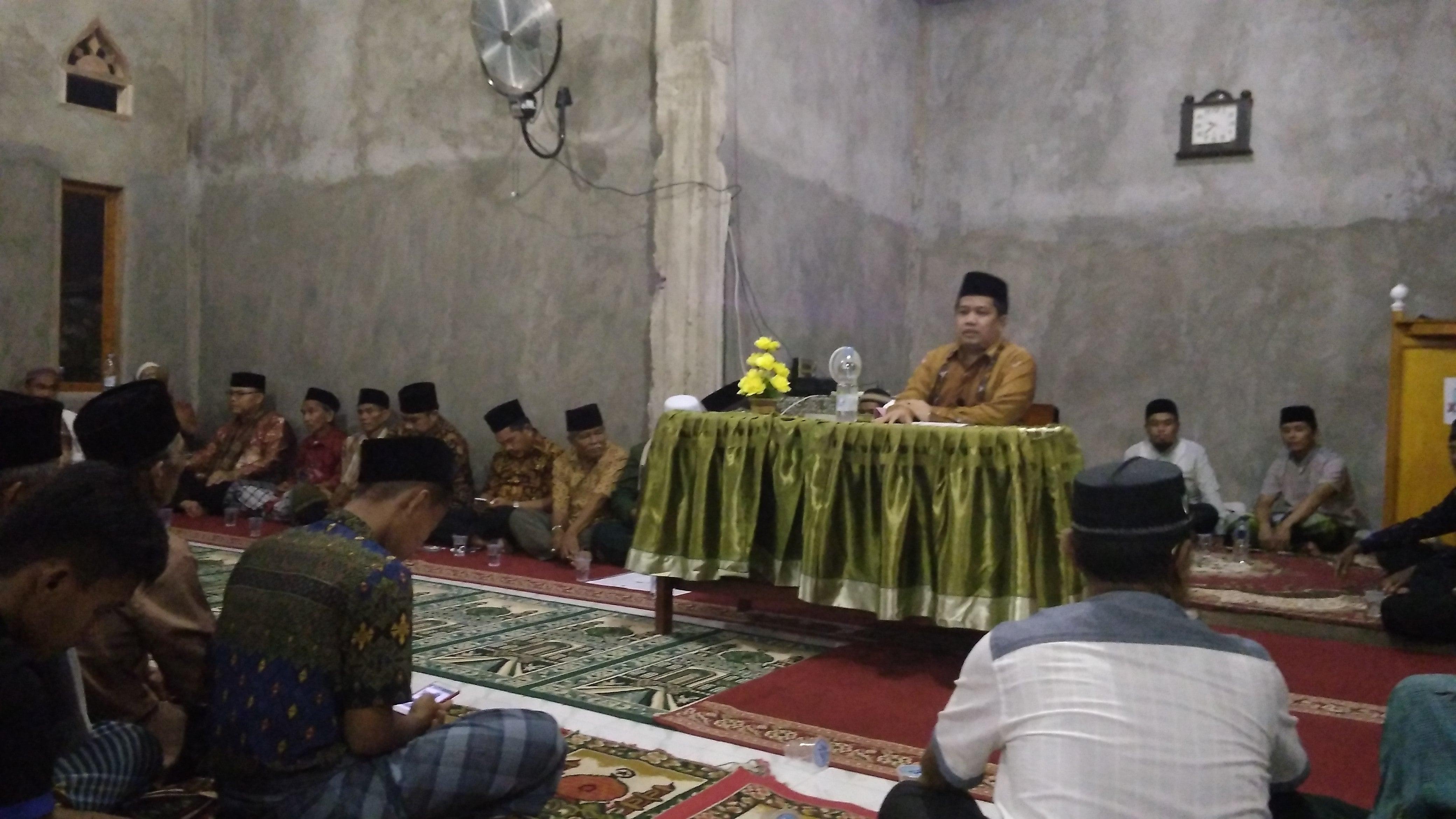 Safari Ramadhan Ke Nagari Maek, Masyarakat Minta Tindak Lanjut Nagari Persiapan