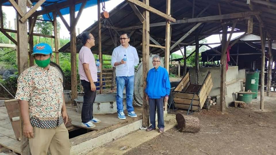 Tindak Lanjuti Keluhan Petani, Wabup RKN Tinjau Usaha Serai Wangi di Sikabu-Kabu